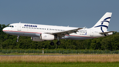 A picture of SXDVH - Airbus A320232 - Aegean Airlines - © Niclas Rebbelmund