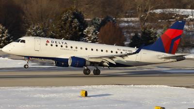 A picture of N823MD - Embraer E170SU - Delta Air Lines - © Nick Neiger