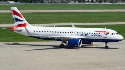 A picture of GTTNE - Airbus A320251N - British Airways - © MaxAviation