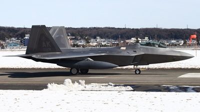 06-4126 - Lockheed Martin F-22A Raptor - United States - US Air Force (USAF)