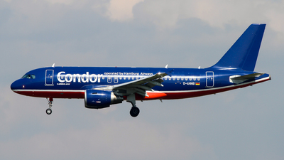 D-AHHB - Airbus A319-112 - Condor (Hamburg Airways)