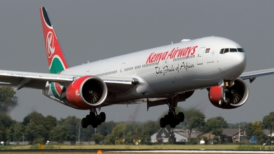 5Y-KZY - Boeing 777-36NER - Kenya Airways