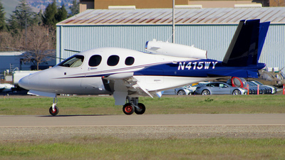 A picture of N415WY - Cirrus SF50 Vision - [0082] - © Jamie West