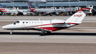 N76ZE - Cessna 525B CitationJet 3+ - Private