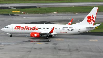 9M-LNM - Boeing 737-8GP - Malindo Air