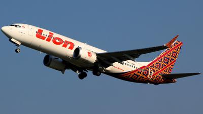 PK-LQK - Boeing 737-8 MAX - Lion Air