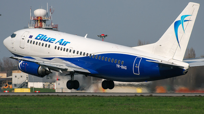 YR-BAG - Boeing 737-5L9 - Blue Air
