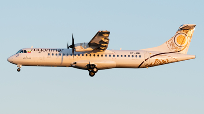 XY-AML - ATR 72-212A(600) - Myanmar National Airlines