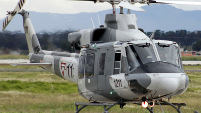 1211 - Bell 412EP - Mexico - Air Force