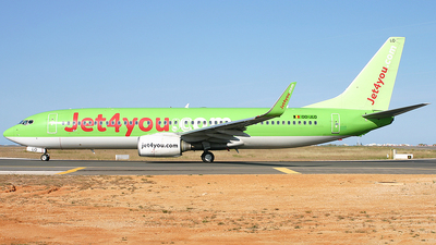 OO-JLO - Boeing 737-8K5 - Jet4You
