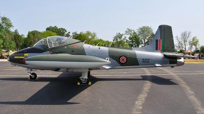 N167SM - British Aircraft Corporation BAC 167 Strikemaster Mk.84 - Private