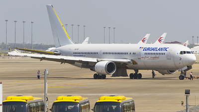 A picture of CSTKT - Boeing 76736N(ER) - EuroAtlantic Airways - © KnightHammer Aviation
