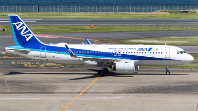A picture of JA211A - Airbus A320271N - All Nippon Airways - © H.Hayashi