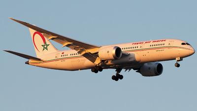 A picture of CNRGU - Boeing 7878 Dreamliner - Royal Air Maroc - © Gautham Kurup