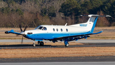 N668AF - Pilatus PC-12/47E - Private