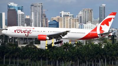 C-GBZR - Boeing 767-38E(ER) - Air Canada Rouge