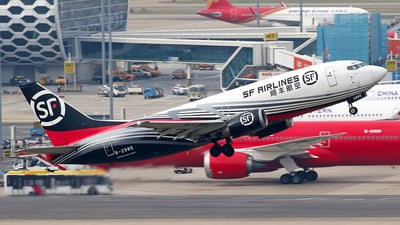 A picture of B2985 - Boeing 7373W0(SF) - SF Airlines - © lihutao