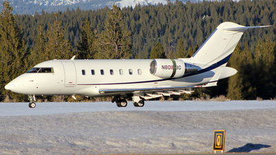 N801BG - Bombardier CL-600-2B16 Challenger 605 - Private