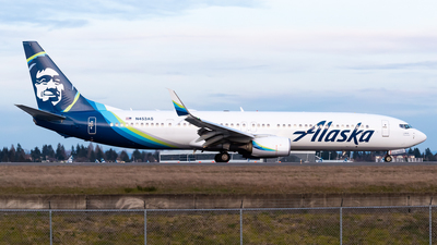 A picture of N453AS - Boeing 737990(ER) - Alaska Airlines - © Nick Sheeder