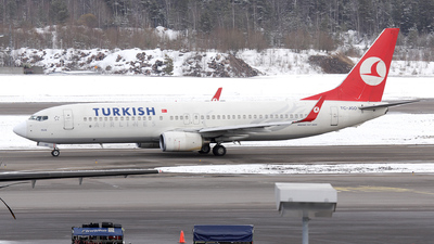 TC-JGO - Boeing 737-8F2 - Turkish Airlines