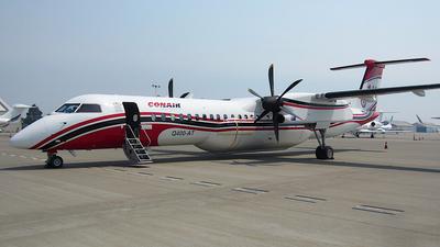 A picture of CFFQE - De Havilland Canada Dash 8400 MR - Conair - © Jamie West