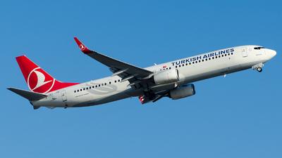 A picture of TCJYF - Boeing 7379F2(ER) - Turkish Airlines - © Alp AKBOSTANCI