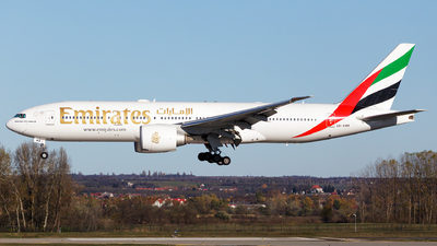 A picture of A6EWB - Boeing 77721H(LR) - Emirates - © SlowhanD
