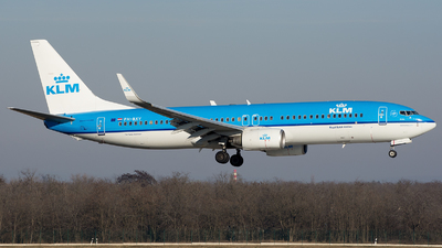 PH-BXY - Boeing 737-8K2 - KLM Royal Dutch Airlines