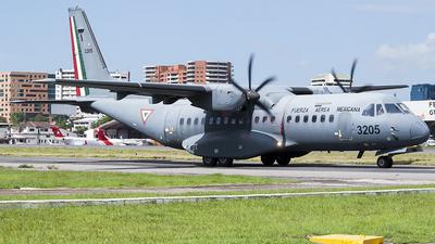 3205 - CASA C-295M - Mexico - Air Force