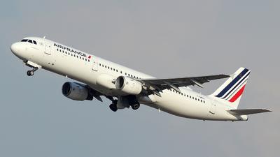 F-GMZA - Airbus A321-111 - Air France