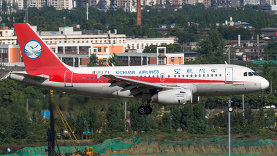 B-6171 - Airbus A319-132 - Sichuan Airlines