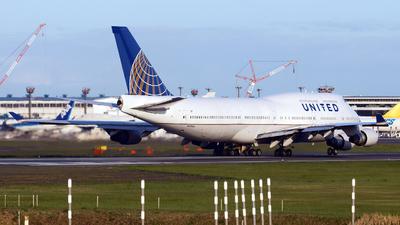 N177UA - Boeing 747-422 - United Airlines
