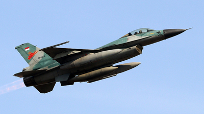 TS-1606 - General Dynamics F-16A Fighting Falcon - Indonesia - Air Force