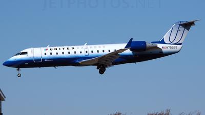 N75998 - Bombardier CRJ-200ER - United Express (Mesa Airlines)