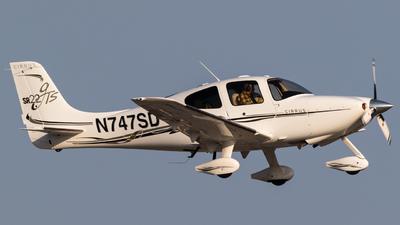 N747SD - Cirrus SR22-GTS - Private