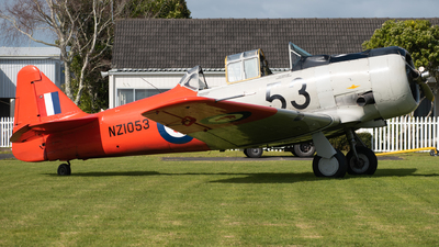ZK-JJA - North American AT-6 Harvard IIA - Harvard 53 Syndicate