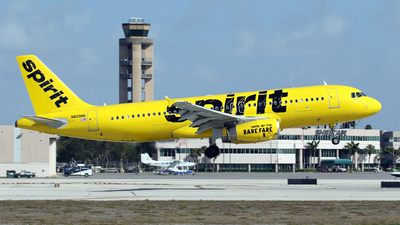 N609NK - Airbus A320-232 - Spirit Airlines
