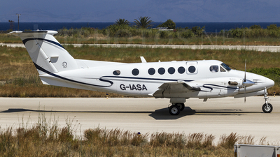 G-IASA - Beechcraft B200 Super King Air - Private