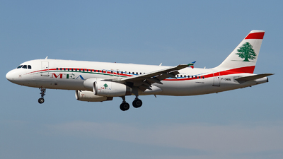 F-OMRN - Airbus A320-232 - Middle East Airlines (MEA)