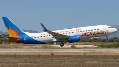 A picture of GJZHK - Boeing 7378MG - Jet2 - © Alewx