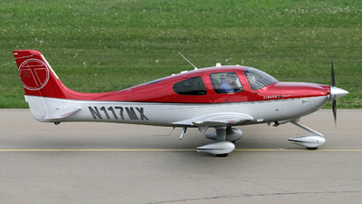 A picture of N117MX - Cirrus SR22T - [0177] - © Terry Figg