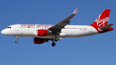 N285VA - Airbus A320-214 - Virgin America