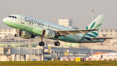 5B-DCW - Airbus A319-114 - Cyprus Airways