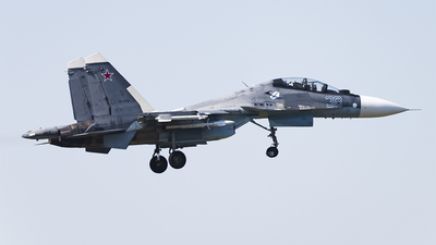 RF-33782 - Sukhoi Su-30SM - Russia - Air Force