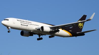 A picture of N334UP - Boeing 76734AF(ER) - UPS - © Angelos Panou