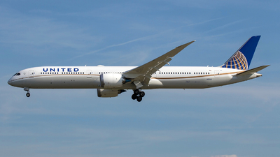 N12006 - Boeing 787-10 Dreamliner - United Airlines
