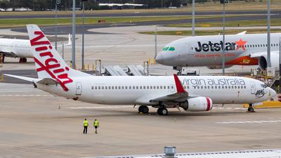 A picture of VHVUI - Boeing 7378FE - Virgin Australia - © ChrisLait