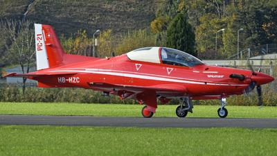 A picture of HBHZC - Pilatus PC21 Prototype -  - © Mirko Bleuer