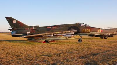 8206 - Sukhoi Su-22M4 Fitter K - Poland - Air Force