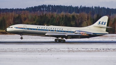 SE-DAI - Sud Aviation SE 210 Caravelle III - Scandinavian Airlines (SAS)